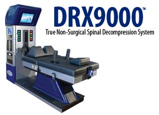 DRX9000 TRUE NON-SURGICAL SPINAL DECOMPRESSION