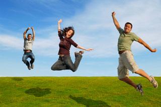 Happy-healthy-people