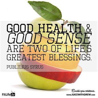 Good Health and Good Sense