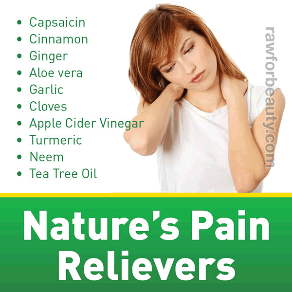 Nature's Pain Relievers